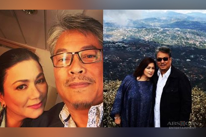 These photos of Dina Bonnevie with her husband just prove love is endless