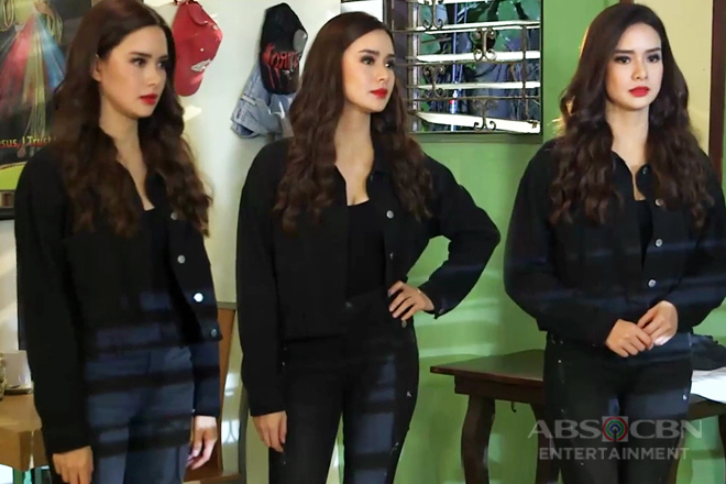 WATCH: Carrie and Erika's beautiful transformation as Agatha