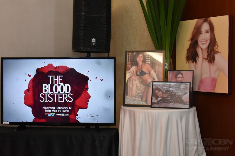 PHOTOS: Erich Gonzales in The Blood Sisters MediaCon