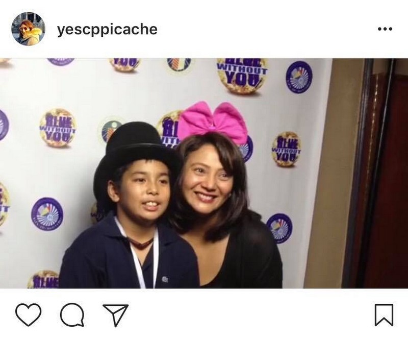 IN PHOTOS: Cherry Pie Picache with her multi-achiever son