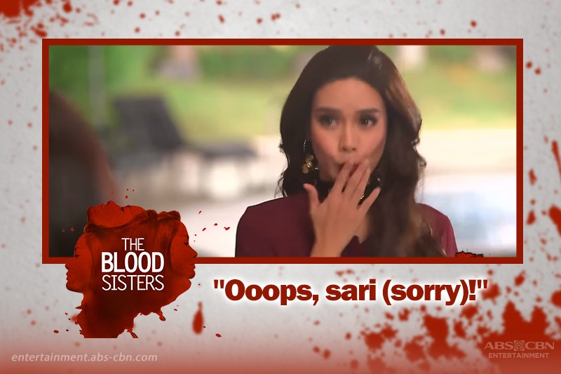 Agatha's Lines in The Blood Sisters That Broke the Internet